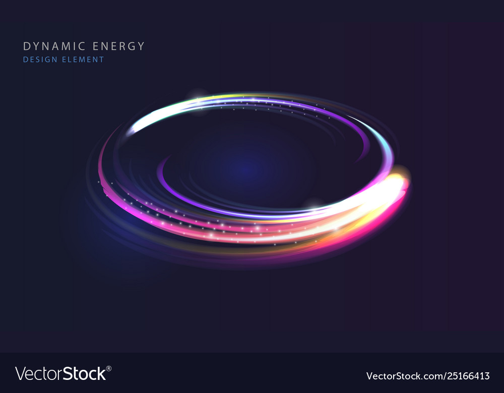 Dynamic energy abstract background flowing lights