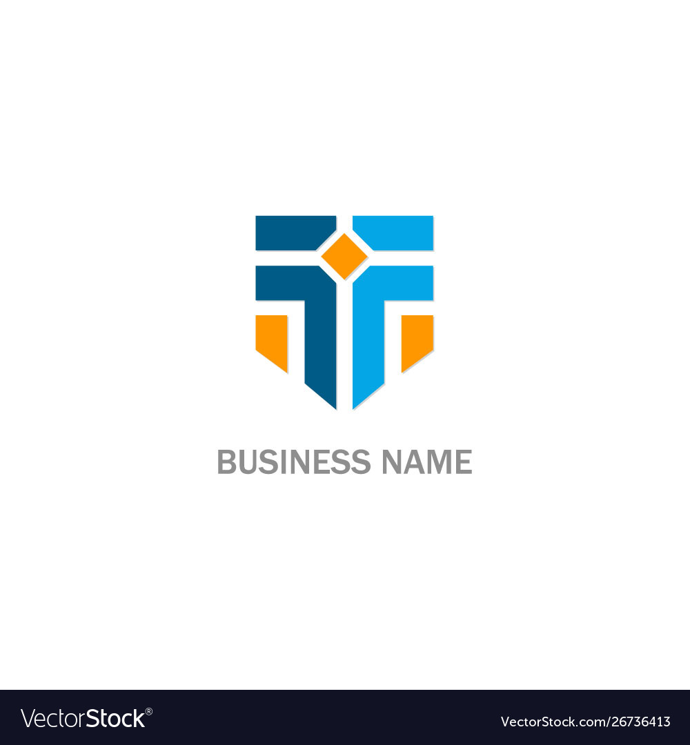 T initial business logo
