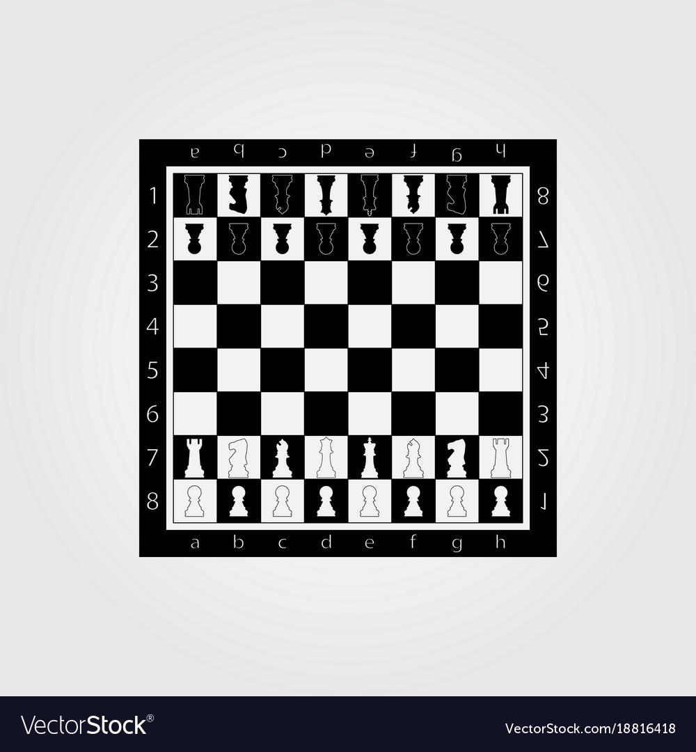 Chess table online game app concept strategy game