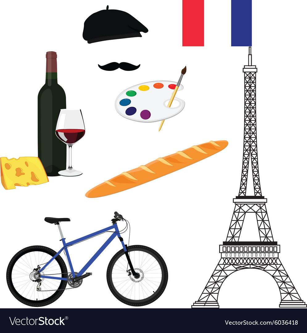 France travel concept