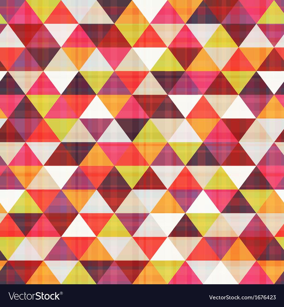 Seamless geometric triangle pattern