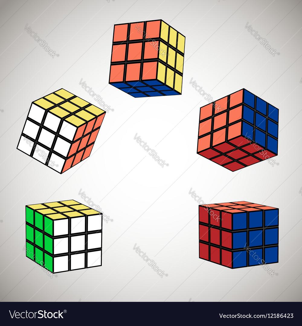 The cube in flight