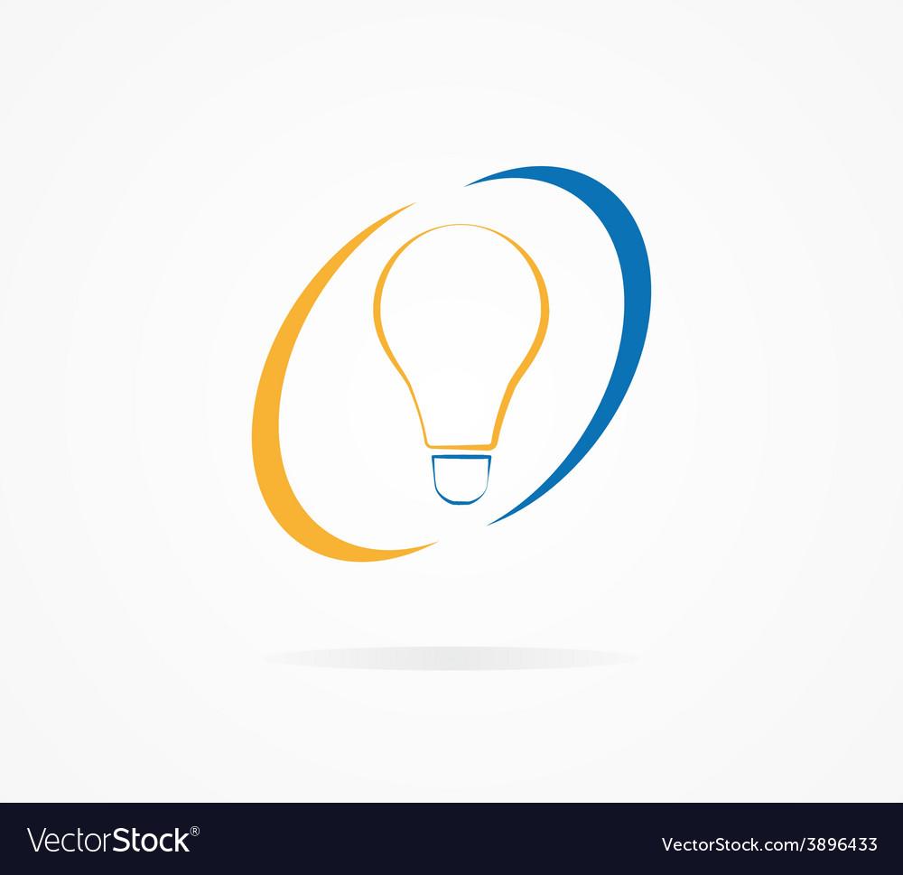 Light lamp logo