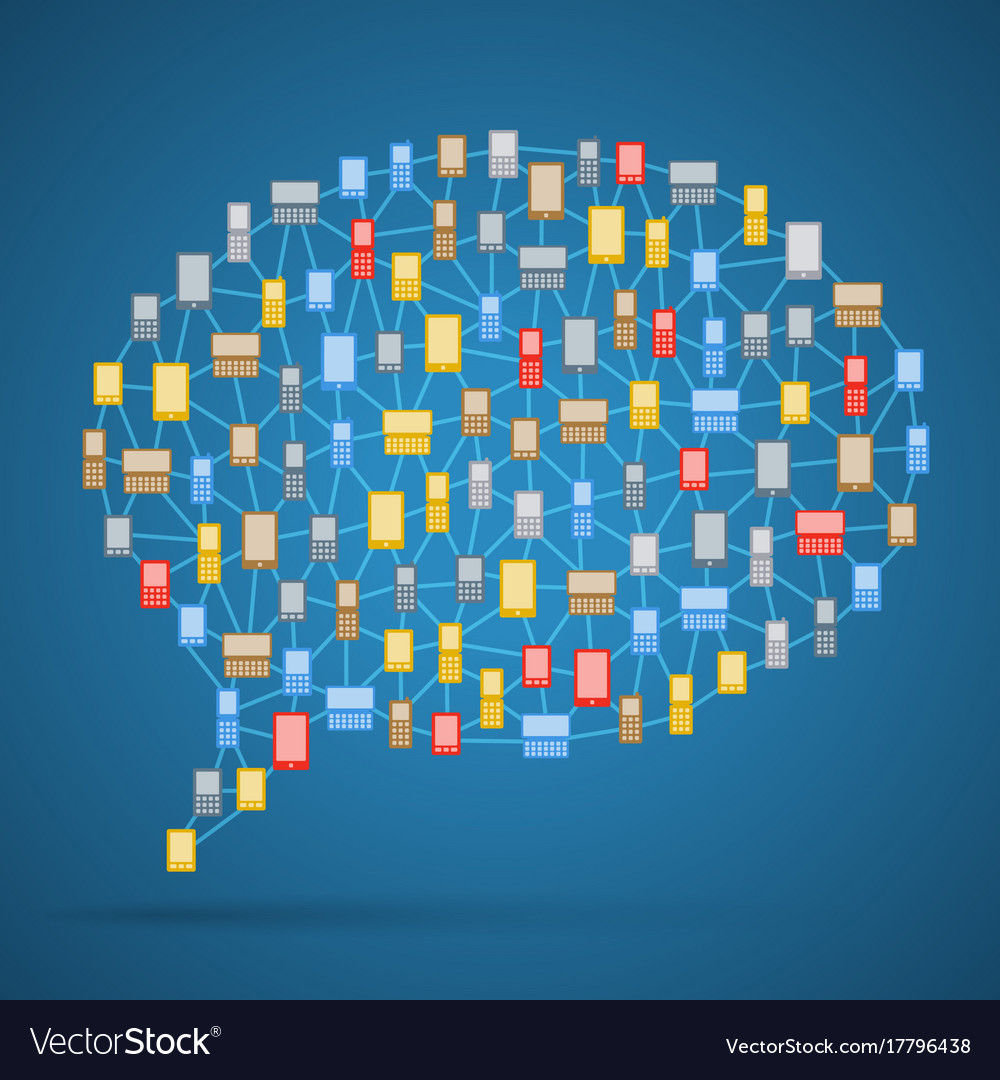 Communication bubble of phones