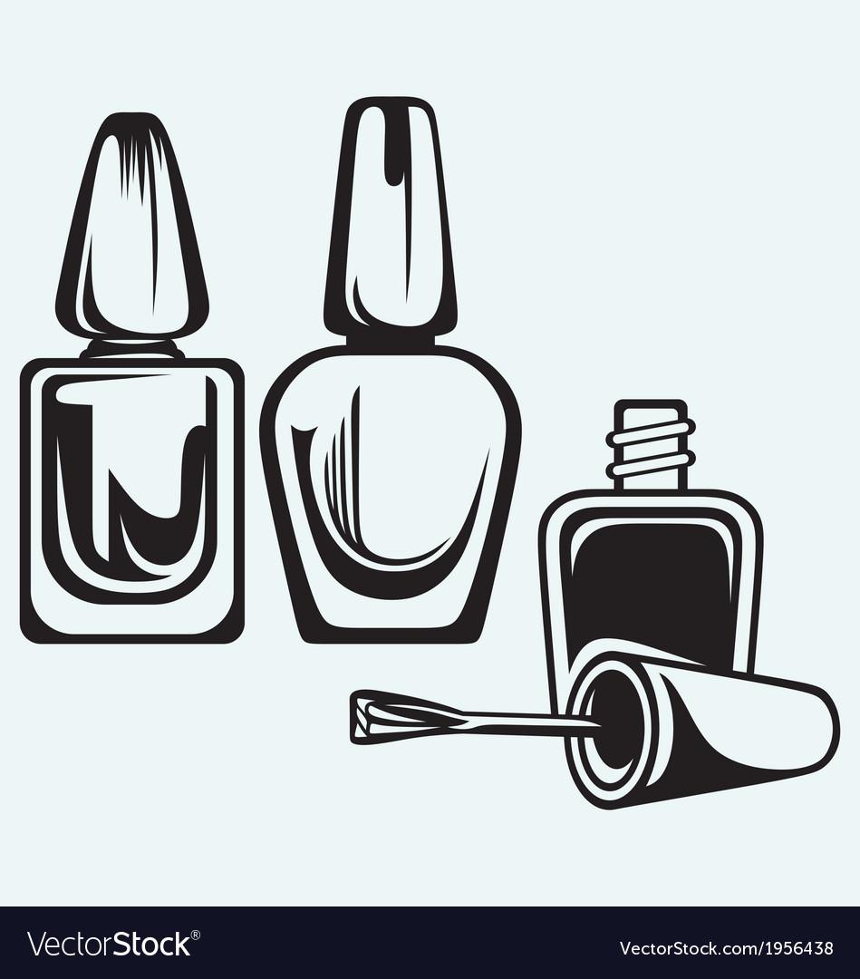 Set of nail polish
