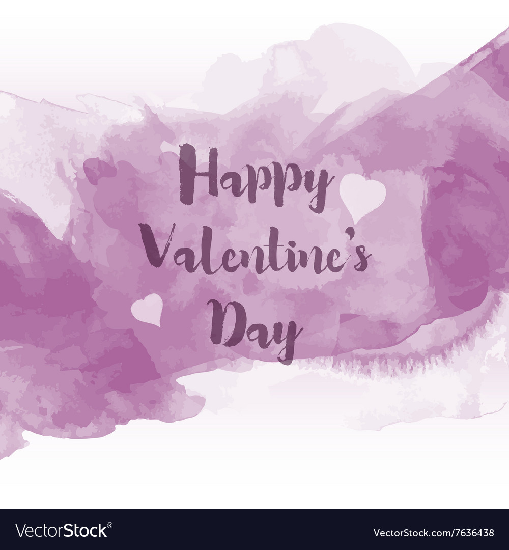 Watercolour Valentines Day background 0601