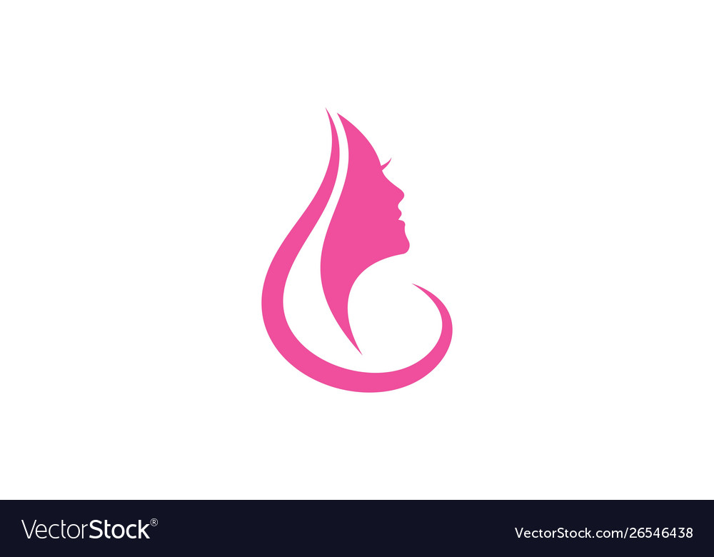 Women face silhouette