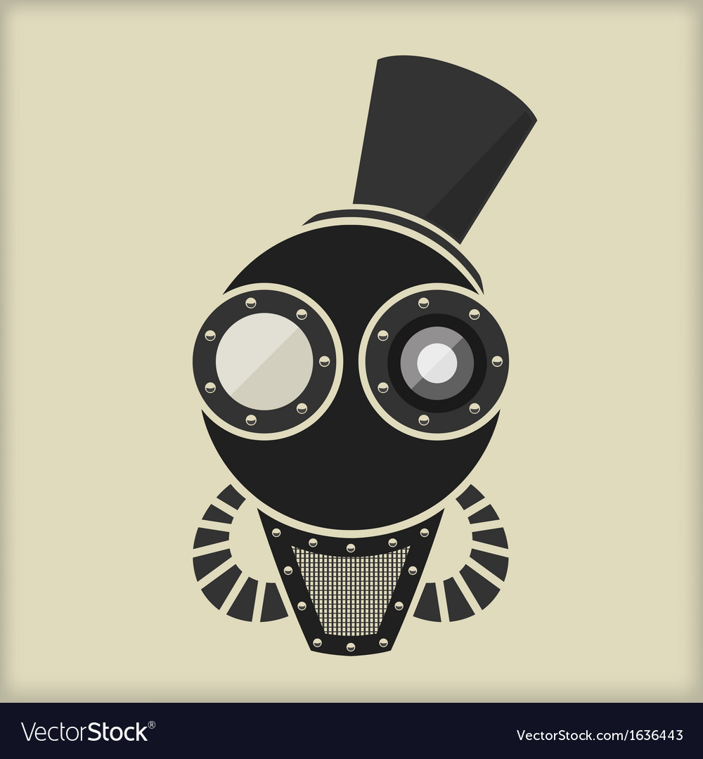Steampunk - Vintage Character Design - Goggles