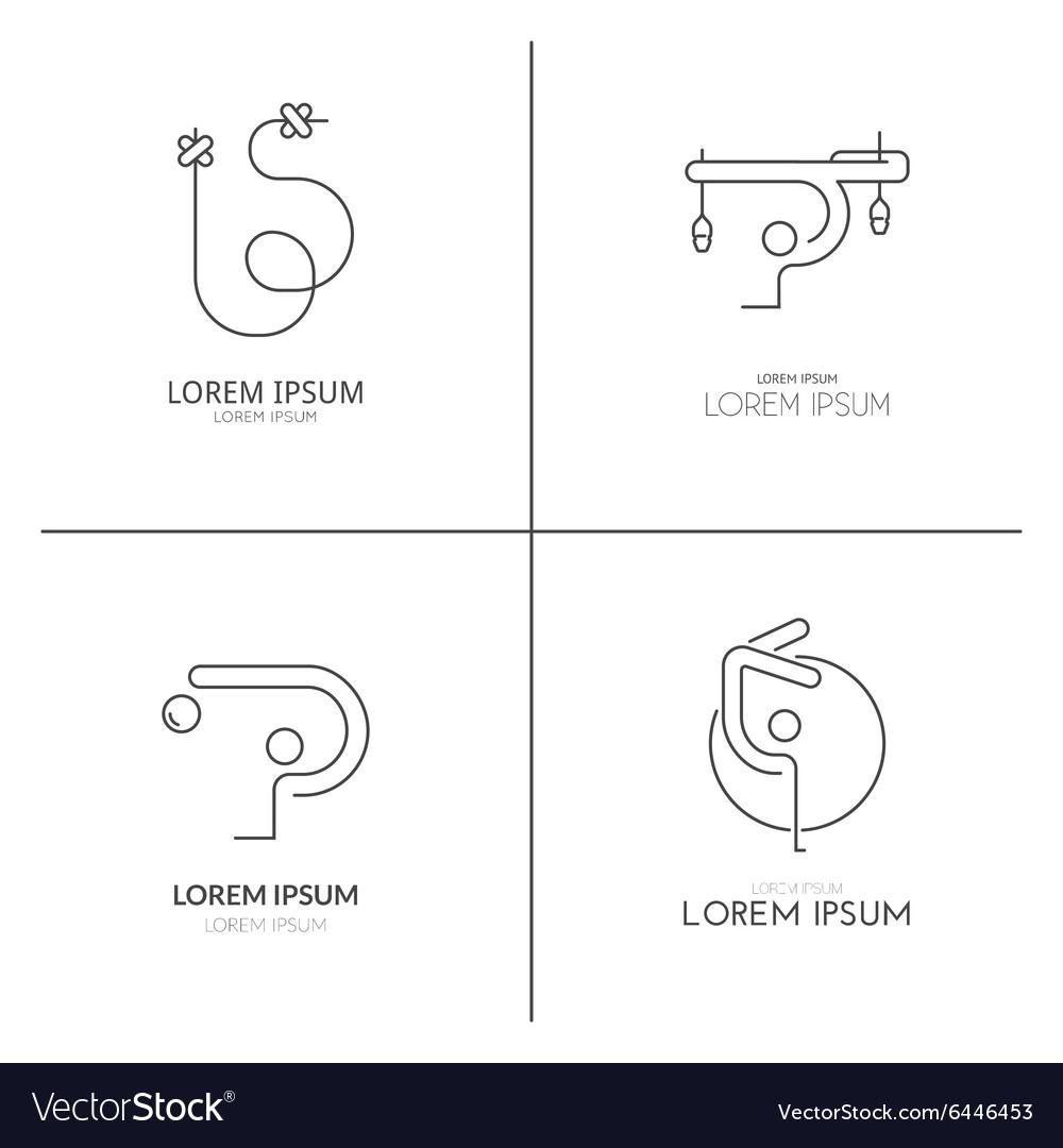 Gymnastics Logotypes