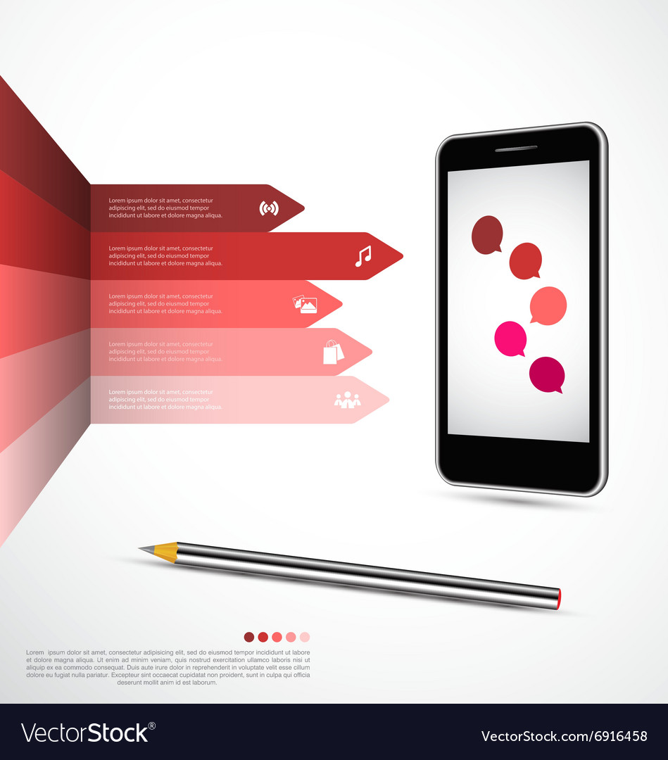 Modern infographics design