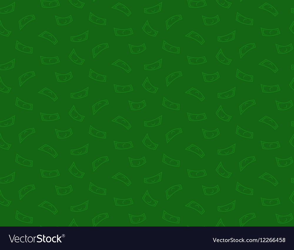 Money green seamless pattern