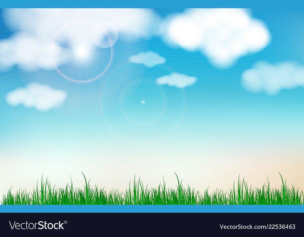 Abstract blue sky blurred gradient background