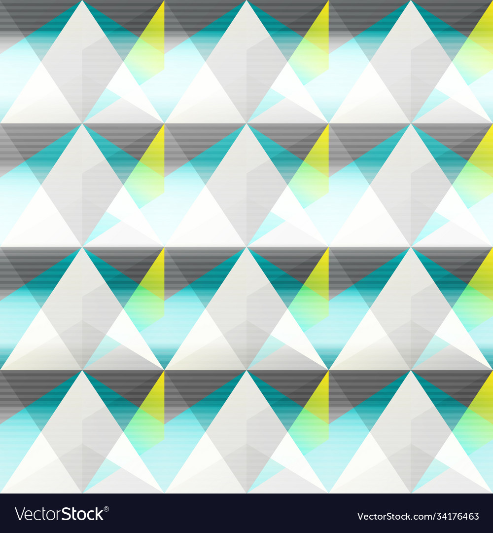 Abstract triangle seamless pattern