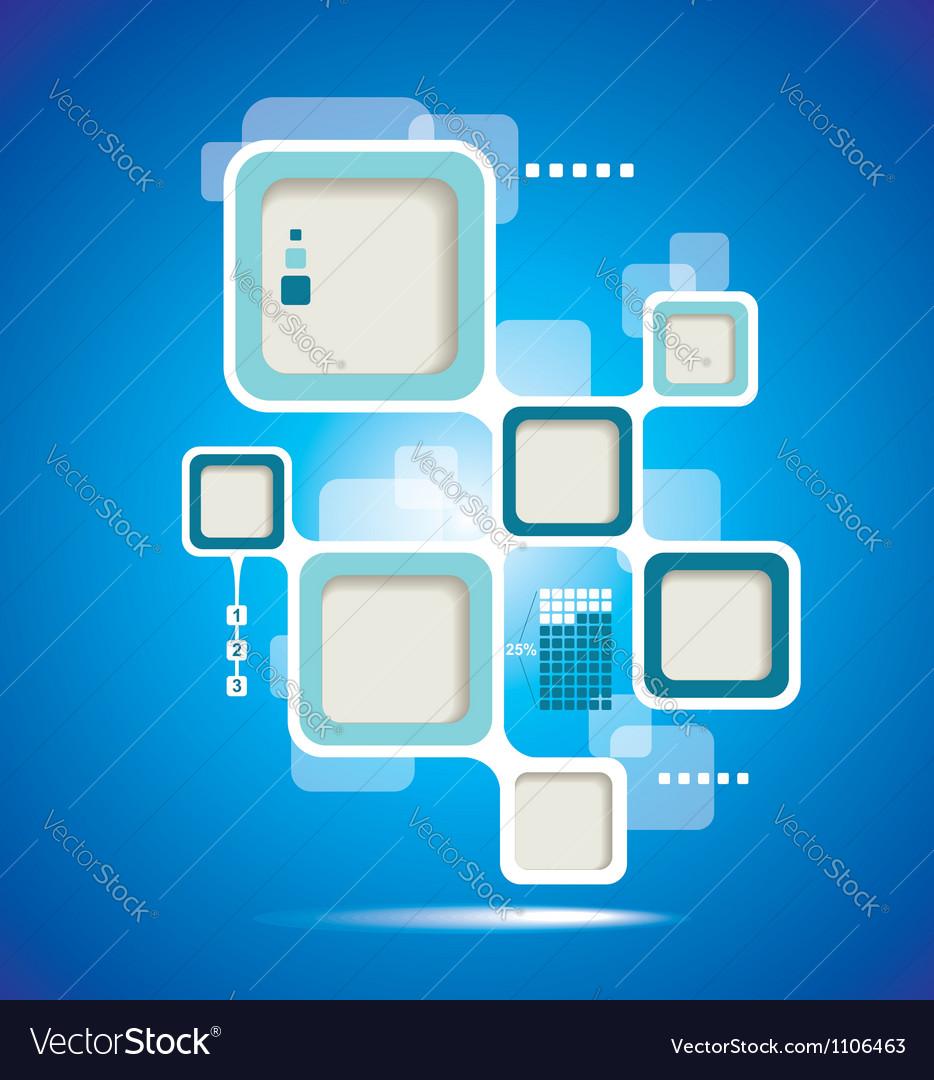 Website Template design frame