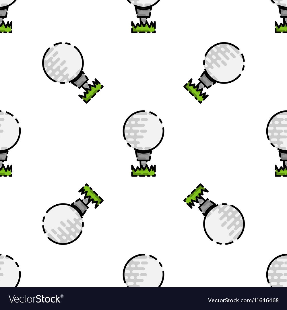 Golf flat pattern