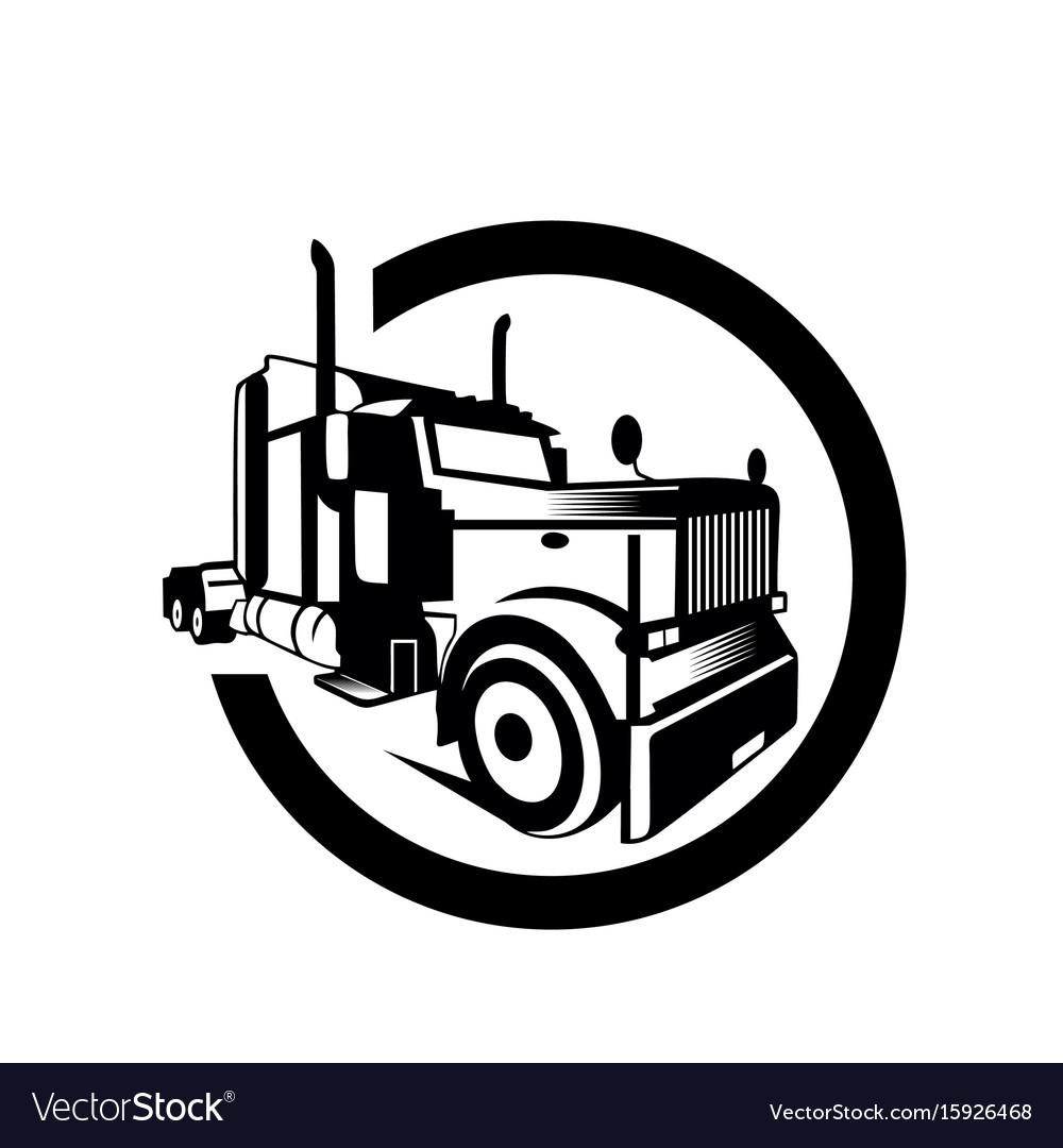 Printtruck cargo container trailer