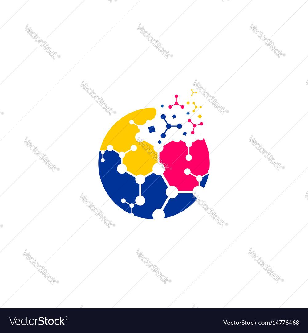 Techno ball logo