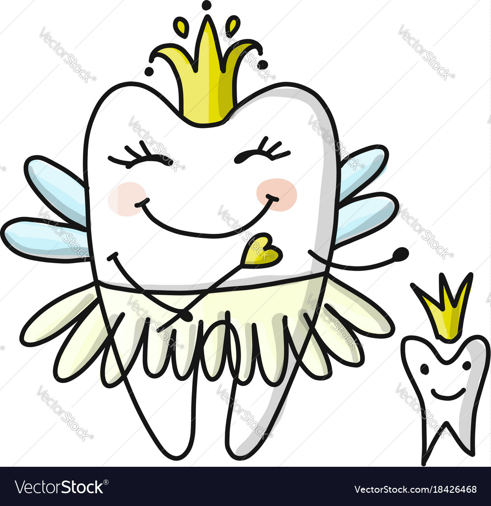 Tooth fairy sketch for your design