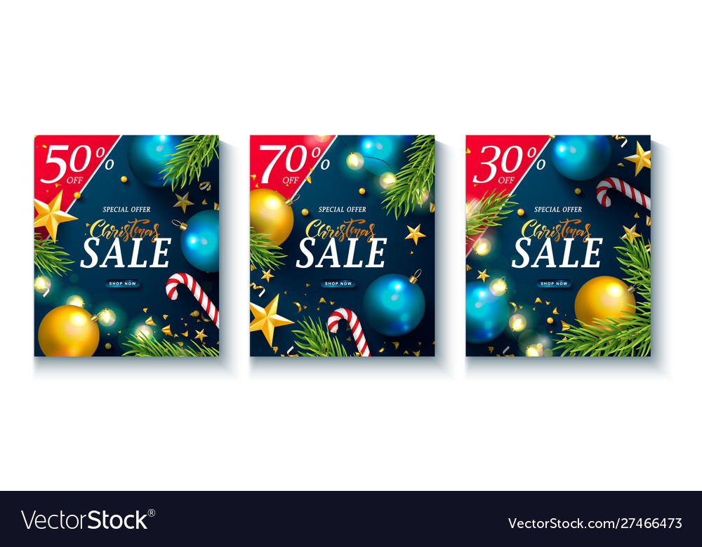 Set advertising booklets christmas sale