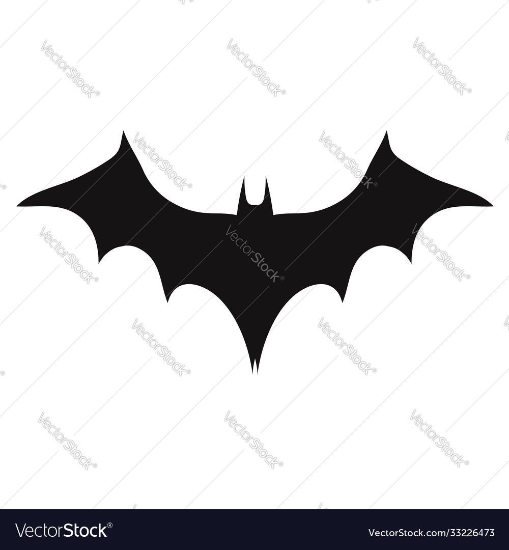 Vampire bat silhouette halloween bats decoration
