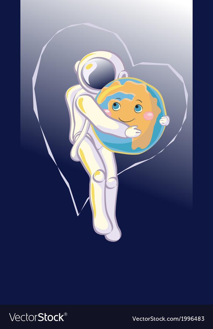 Hug in Space