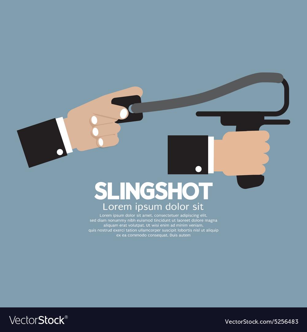 Slingshot In Hand