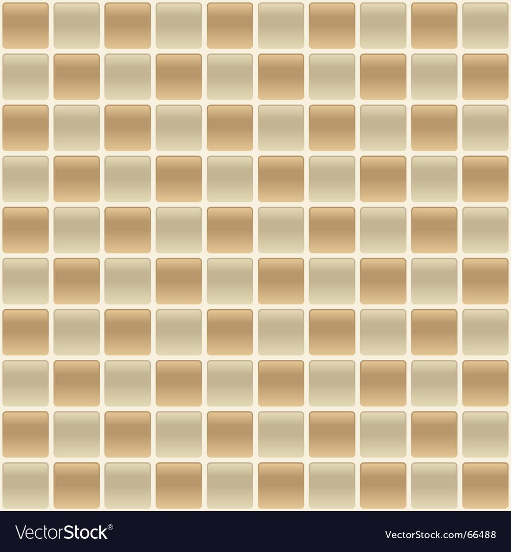 Checkered tile vector image