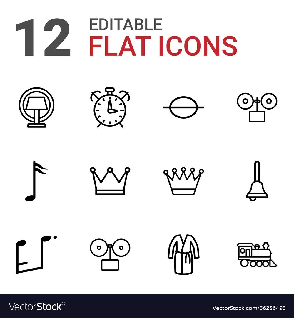 12 classic icons