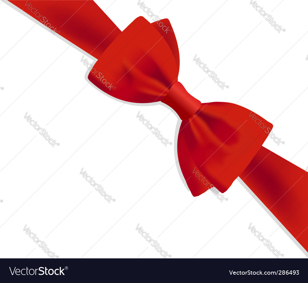 Gift bow royalty free vector image vectorstock gift bow vector image negle Image collections