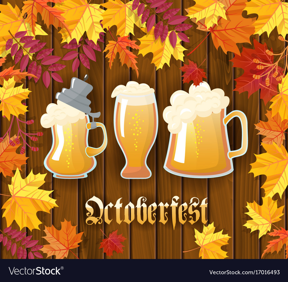 Oktoberfest traditional german autumn festival of