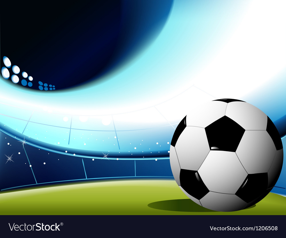 Abstract Sports Background Royalty Free Stock Image: Abstract Football Background Royalty Free Vector Image