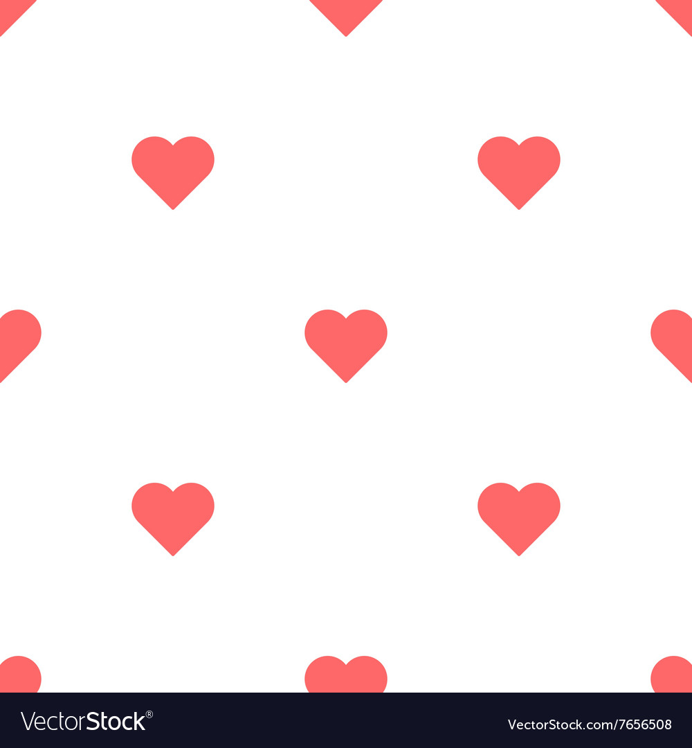 Heart Seamless Pattern Valentines Day bacakground
