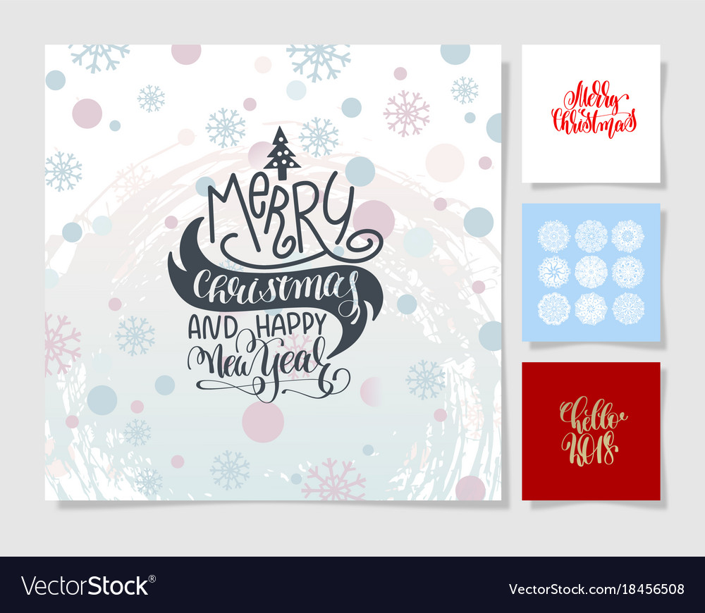 Merry Christmas Poster 2018.Lettering Christmas Posters Merry Christmas And