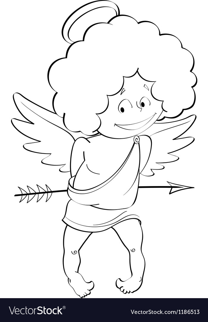 Angel cupid for valentines