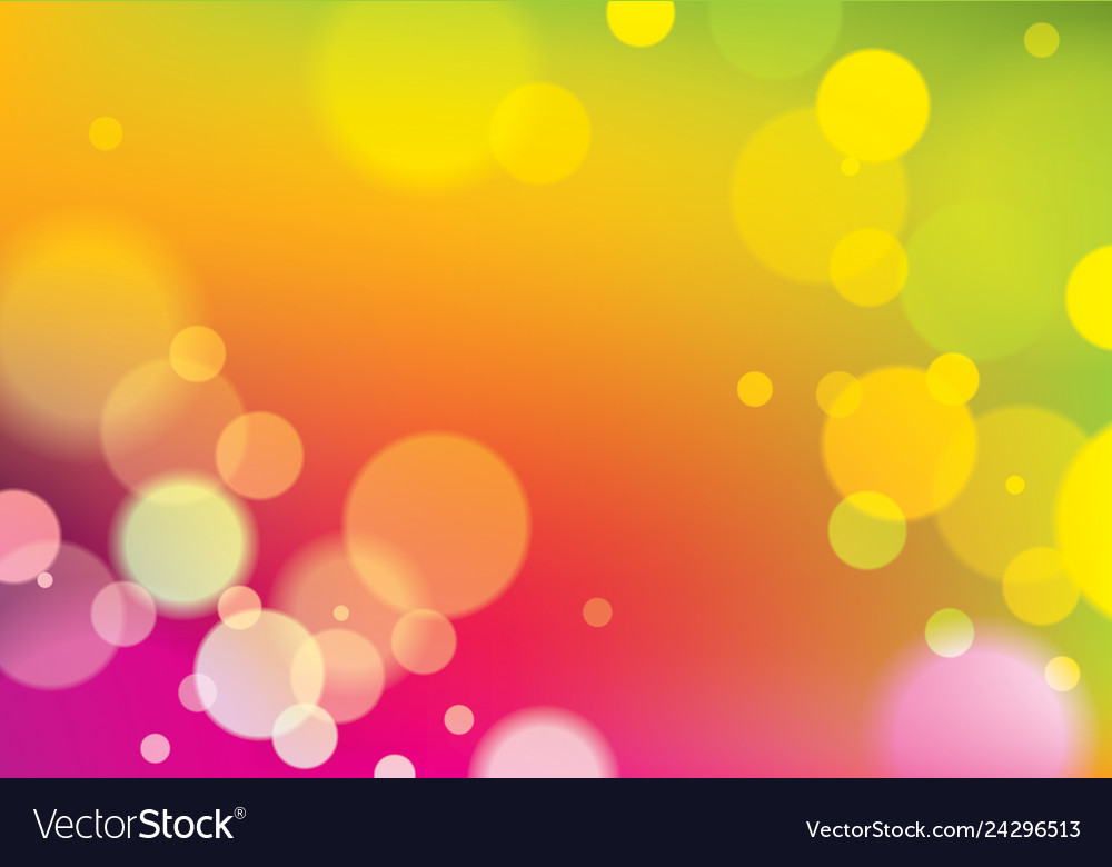 Blurred lights background bokeh effect texture