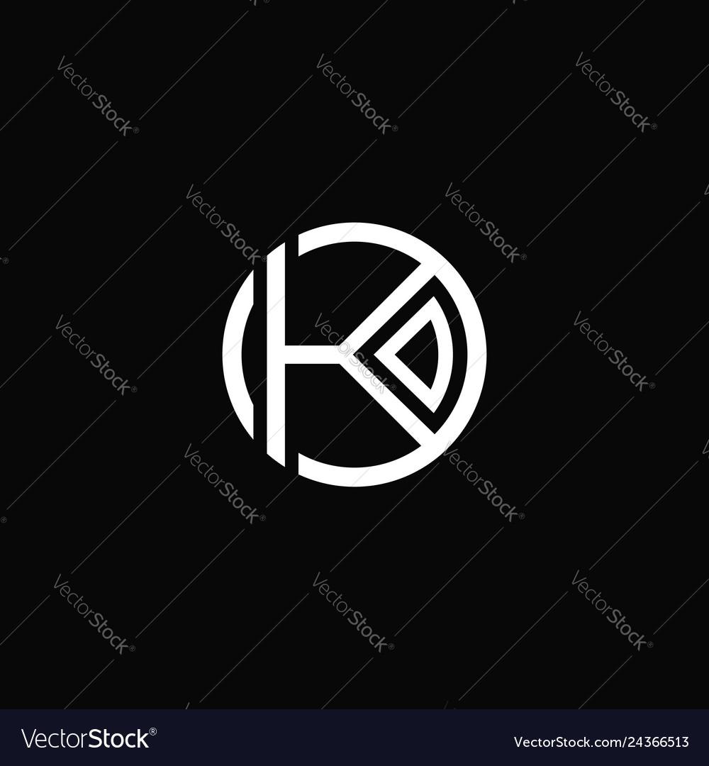 K circle logo