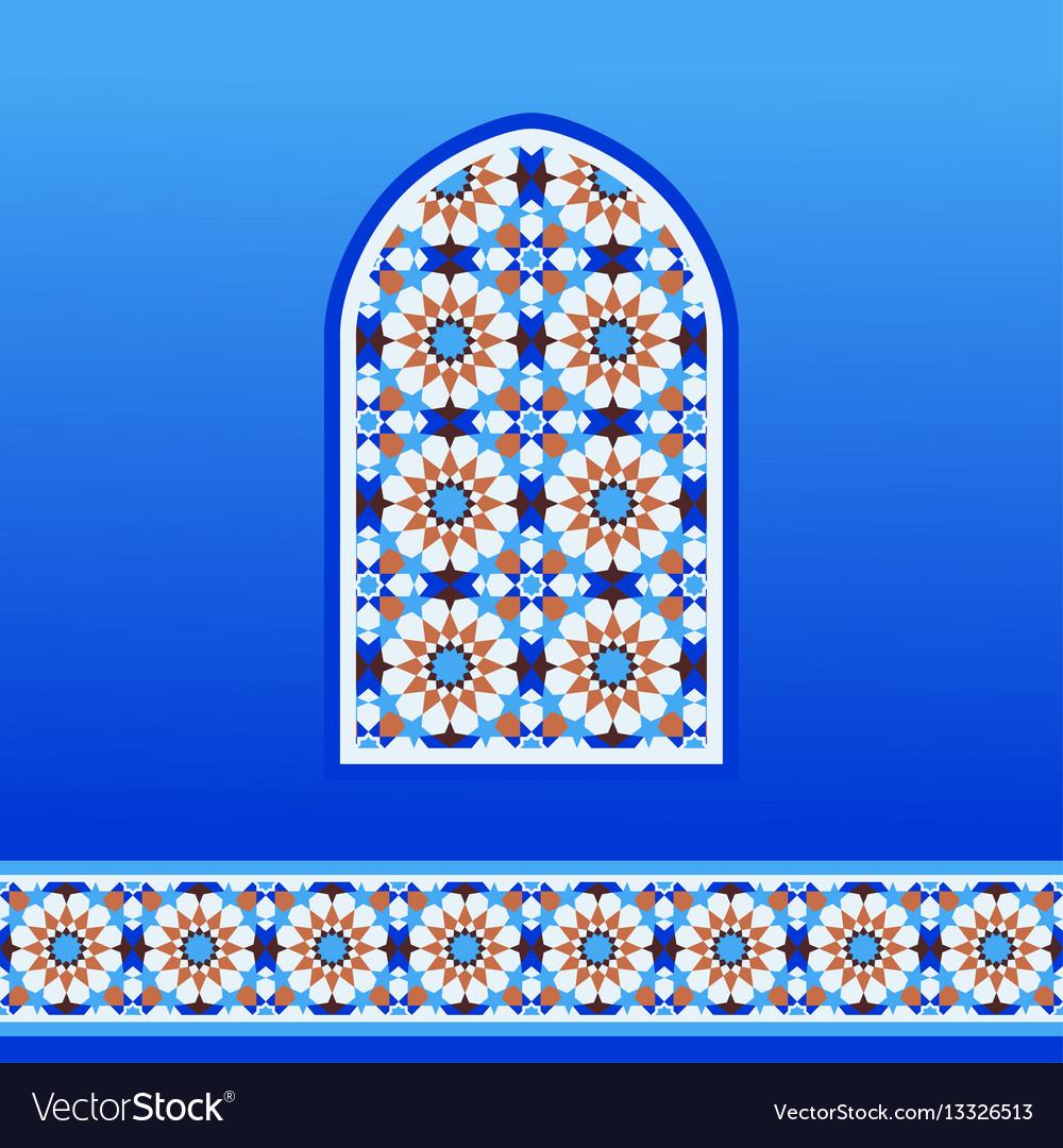 Traditional moroccan mosaic