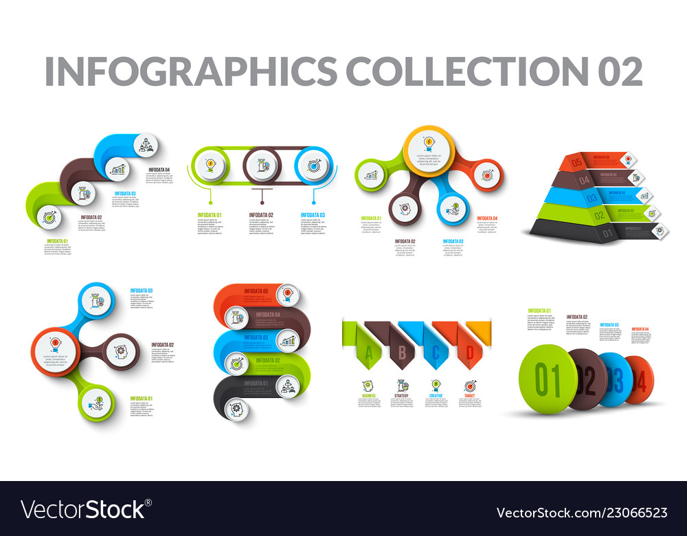 Cycle business graphic elements business process