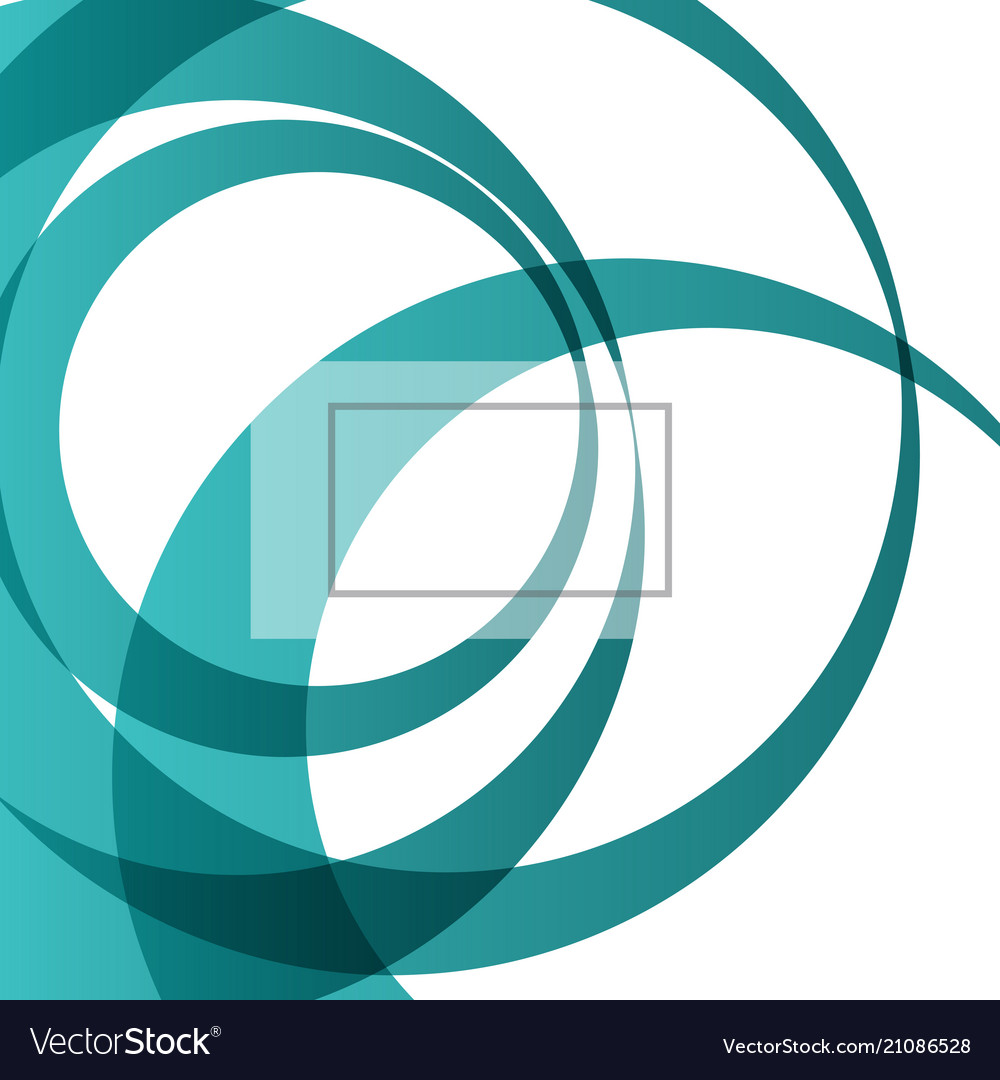 Abstract bright technology circles background vector image