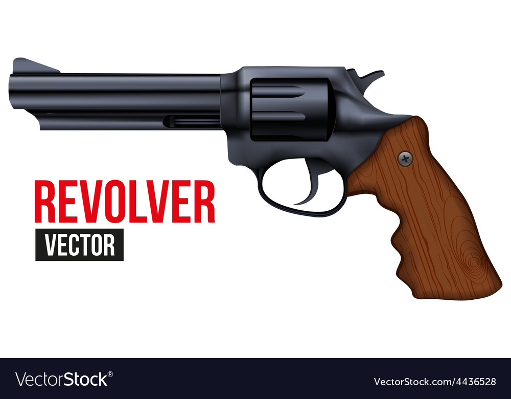 Big Revolver Black gun metal