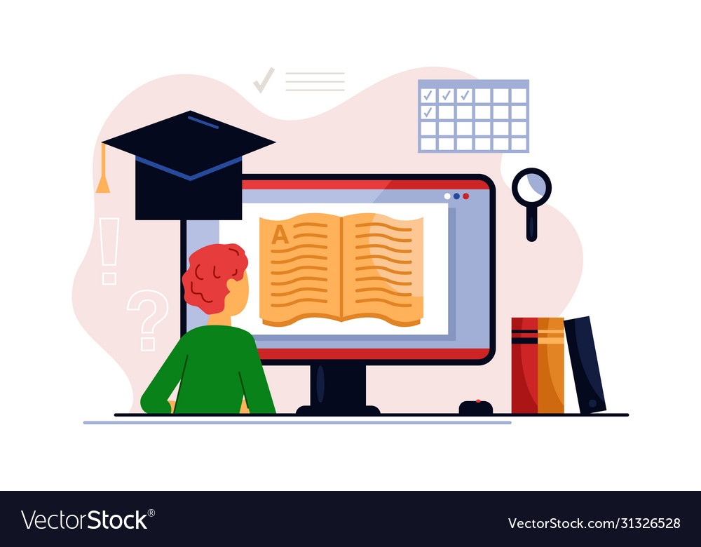 Online training course and distance learning
