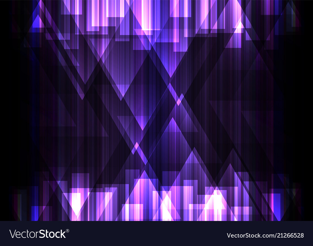 Purple Crystal Line Dark Abstract Background