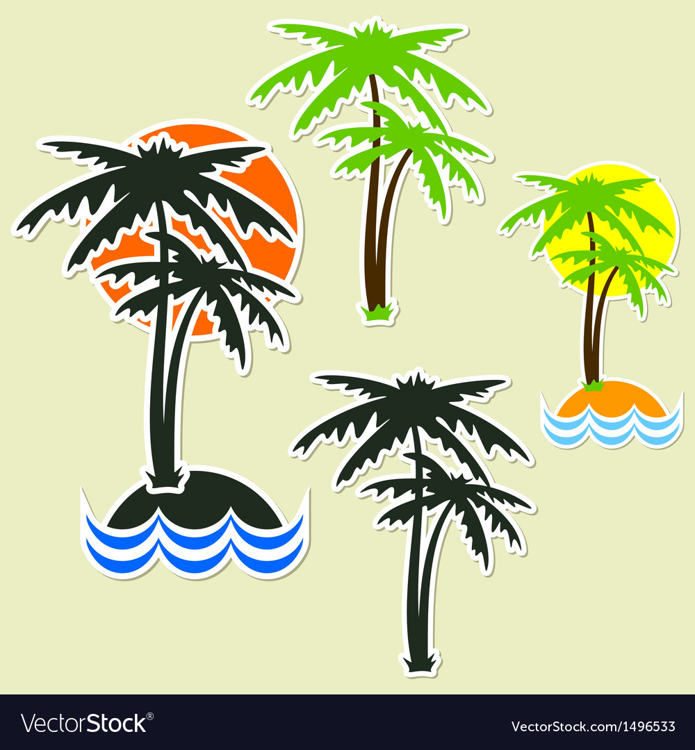 Different palm