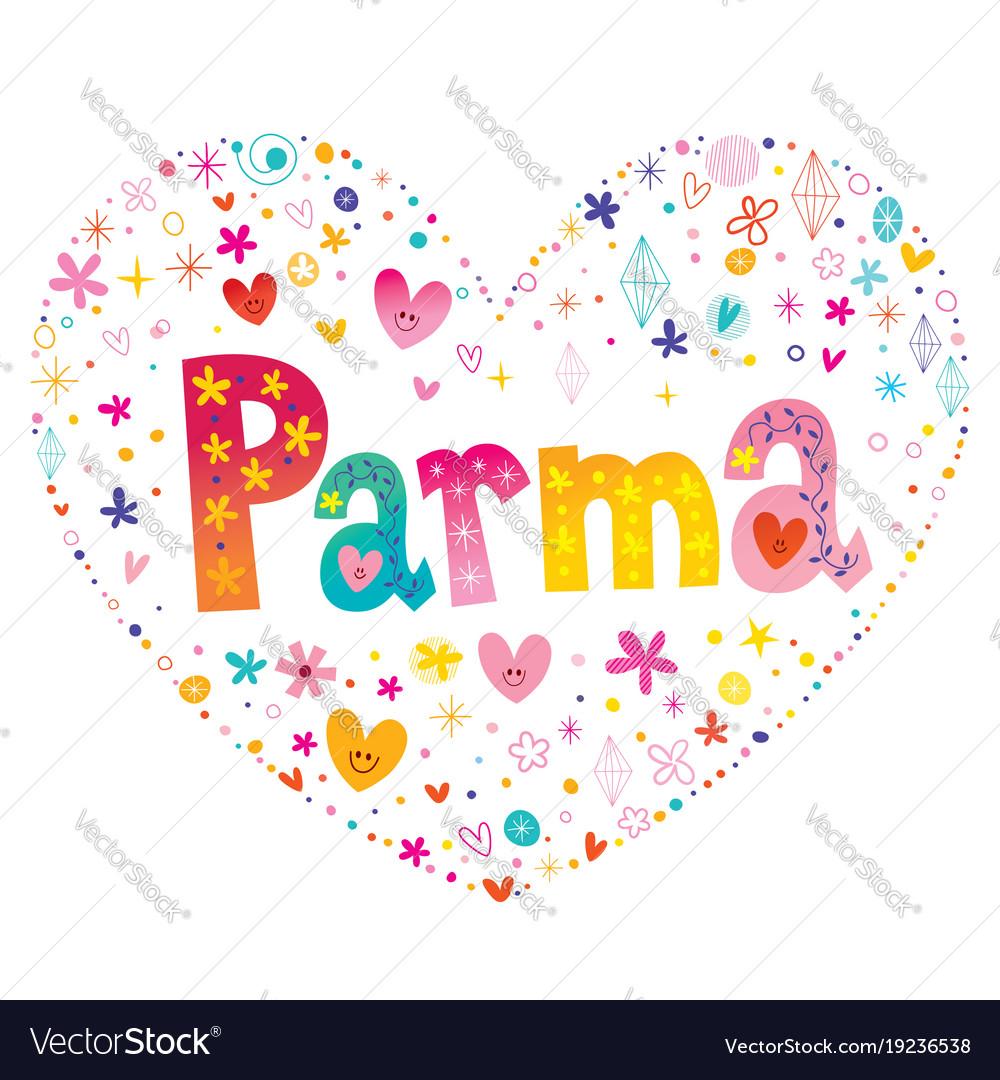 Parma city in italy