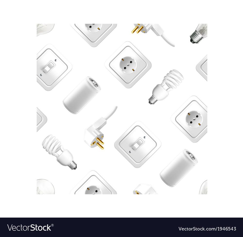 Electrical appliance seamless pattern
