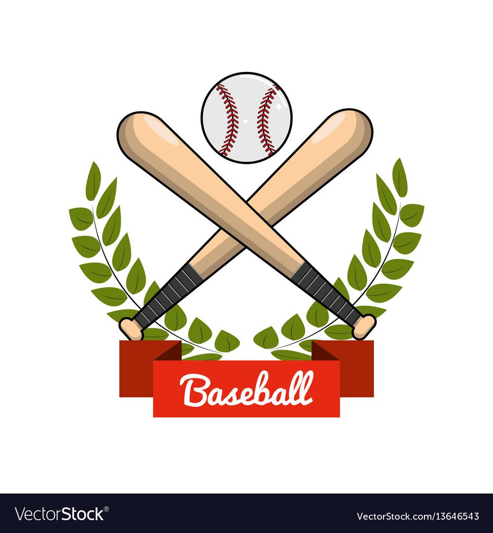 Emblem baseball play icon