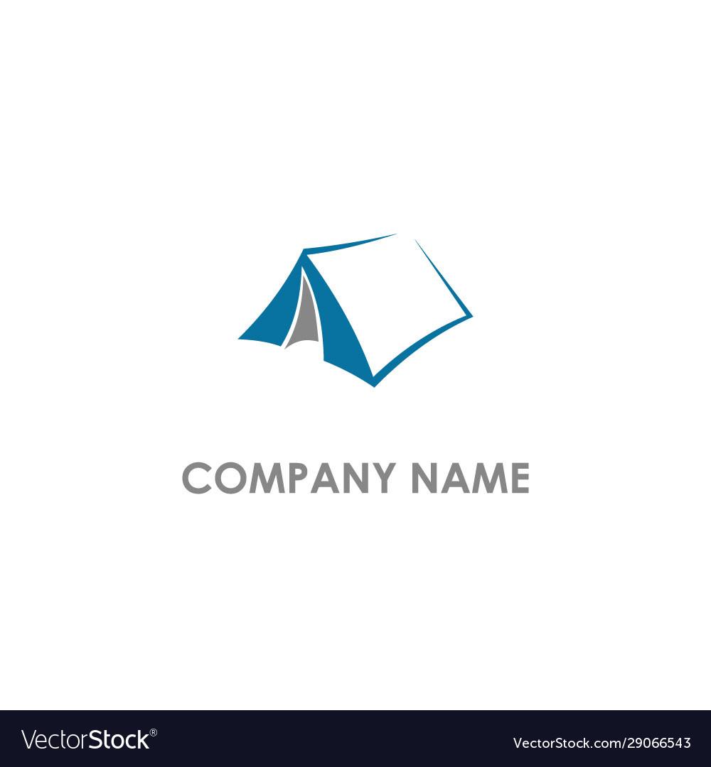 Tend camping logo