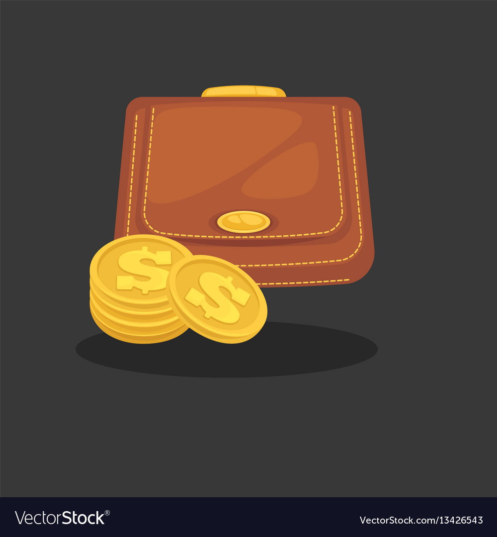 Wallets with money shopping purse cas