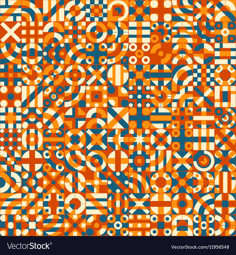 Seamless Irregular Geometric Blocks Quilt