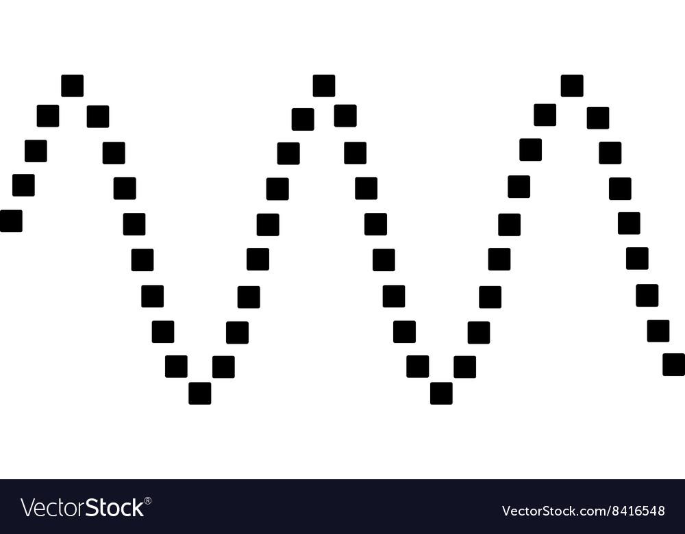 Sinusoid Waves Toolbar Icon